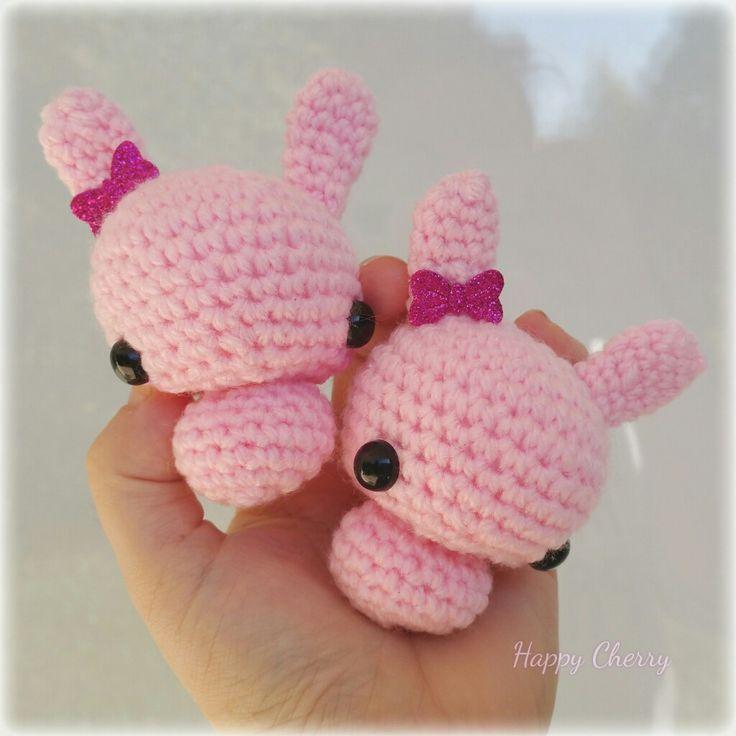 Little bunny amigurumis 🐰
