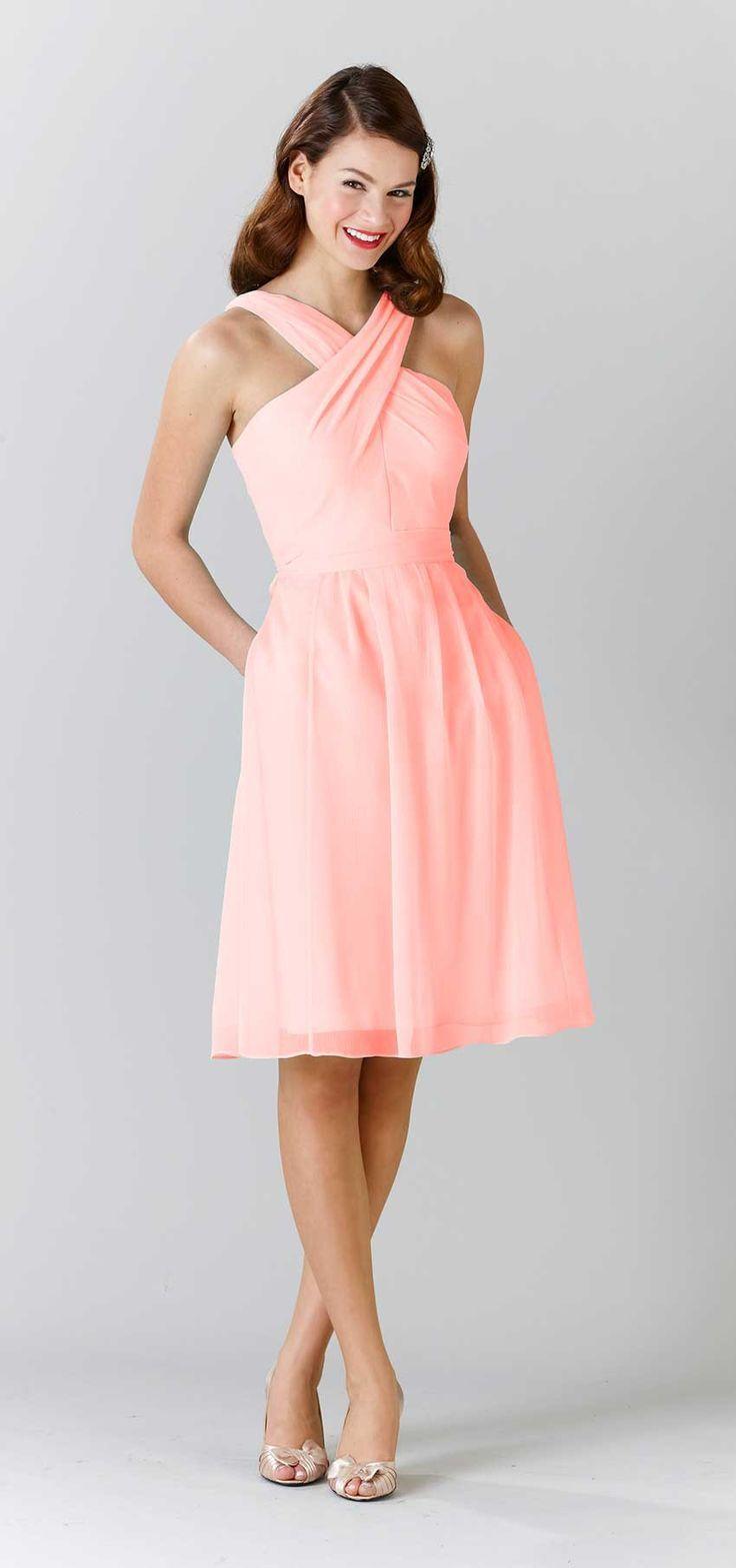 447 best bridesmaids dresses images on pinterest marriage audrey halter bridesmaid dressescoral ombrellifo Choice Image