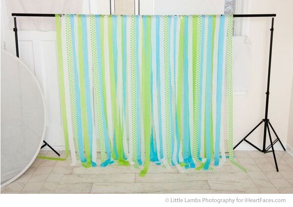 How to make an Easy DIY Cake Smash Backdrop Tutorial on I Heart Faces Photography Blog