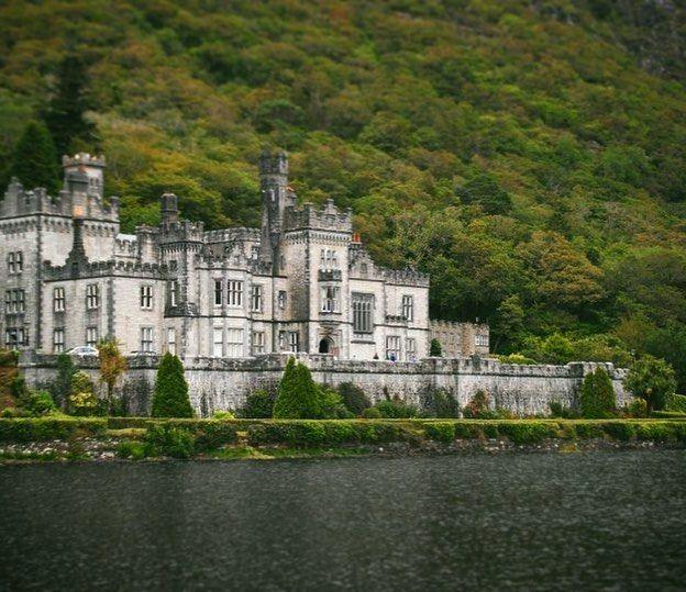 Kylemore Abbey - Ireland - beautiful castle
