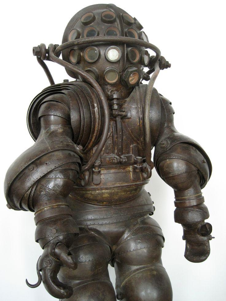 Carmagnolle diving suit - France - 1880.