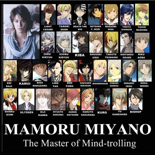 Voice Actor: Mamoru Miyano Tamaki!