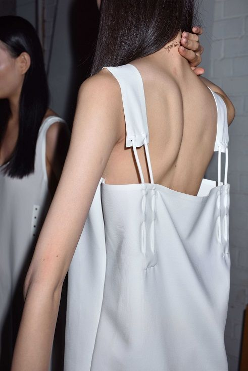 Backstage at JNBY SS 2016 #spring #summer #style #fashion