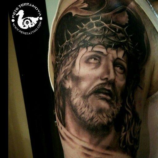209 best custom tattoos images on pinterest custom for Tattoos of black jesus