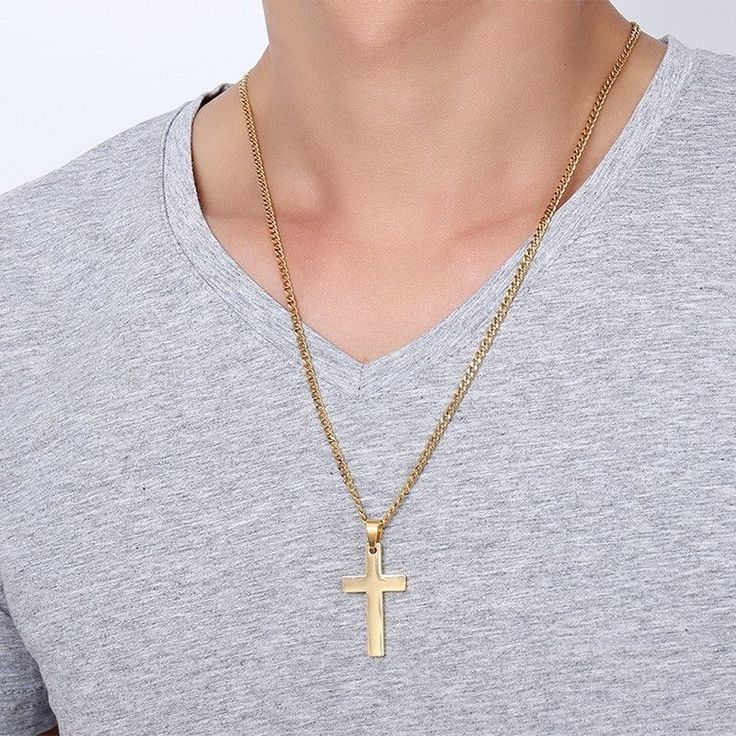 Cross Necklace & Pendant For Men Stainless Steel Jewelry 💰$13.99   Order here 🛒 ➤https://goo.gl/6Xykkw  Shop Here 🛒 ➤https://www.my-shoplab.com    #lace #fashion #instagram #instadaily #bestoftheday #summer #shopping #accessories #mens #necklace #bracelete #ring #jewelry #silver #gold