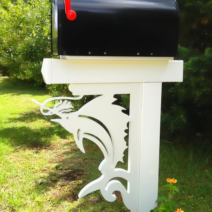 Top 25 ideas about coastal mailboxes on pinterest window for Best mailbox design