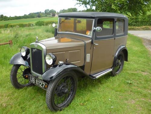 Austin 7 - Mulliner Box Saloon - 1931
