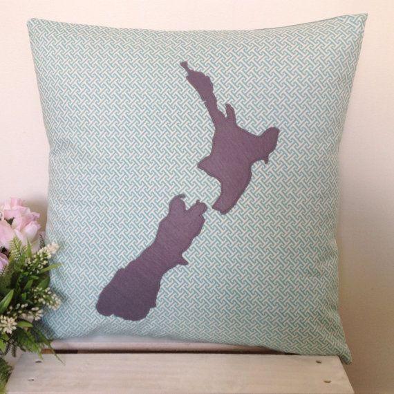 Cushion Cover Maze Fabric Grey New Zealand by natandalicreative
