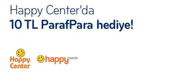 Paraf kredi kartı sahipleri Happy Center mağazalarından yapacakları 75 TL ve üzeri alışverişlerinde 10 TL değerinde paraf para kazanacaklar. Kampanya 23 Mayıs-23 Haziran 2017 tarihleri arasında Happy Center'lardan ve happy.com.tr adresinde geçerli olacaktır. Kampanya Ayrıntıları  Kazanılan ParafPara'lar, harcamadan bir gün sonra harcama yapılan kredi kartına yansıtılacaktır. Ödül kazanımına ilişkin bilgi slip üzerinde yer alacak ve kazanım SMS ile bildirilecektir. Her müşteri kampanyadan bir…