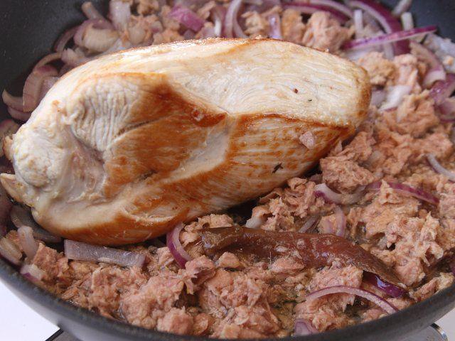 Morbida carne di tacchino in salsa di tonno