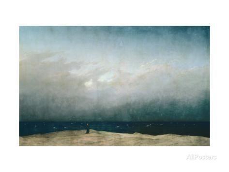 Der Mönch am Meer, 1903 Giclée-Druck von Caspar David Friedrich bei AllPosters.de
