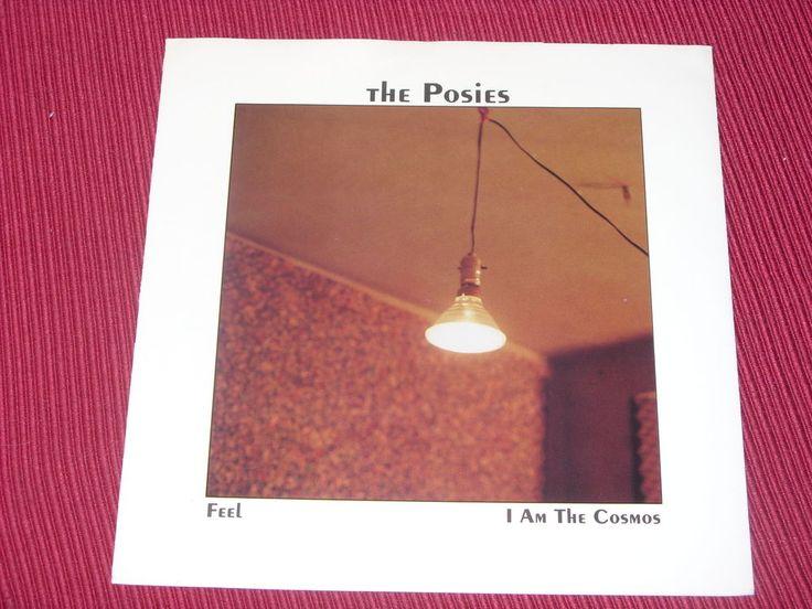 "The Posies:  Feel orig rare  BLUE VINYL  7""   Near Mint"