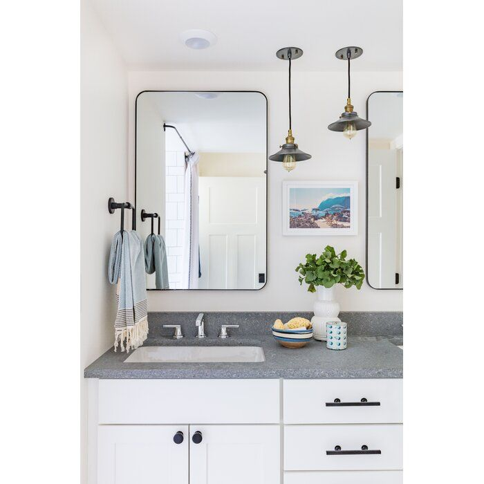 Leverett Rectangular Traditional Accent Mirror In 2020 Eclectic