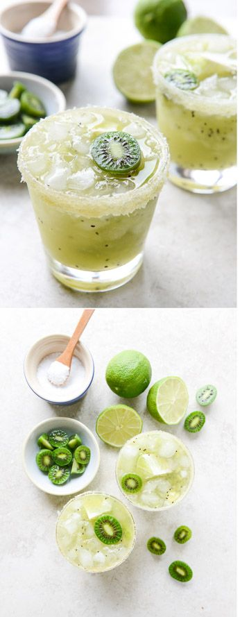Perfect Kiwi Margaritas. Yes yes yes! I howsweeteats.com