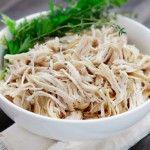 Shredded Tex-Mex Crock-Pot Chicken | Recipe