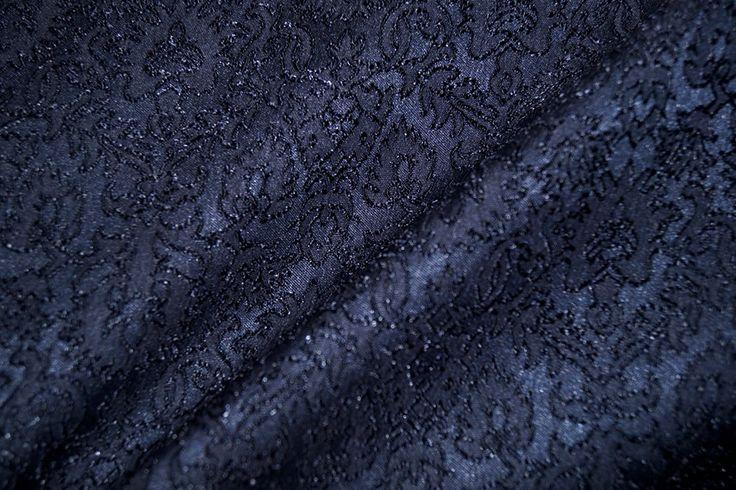 NB16/17 9027-008 Jaquard fantasie donkerblauw