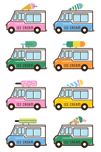 Poolga - Ice Cream Van Background