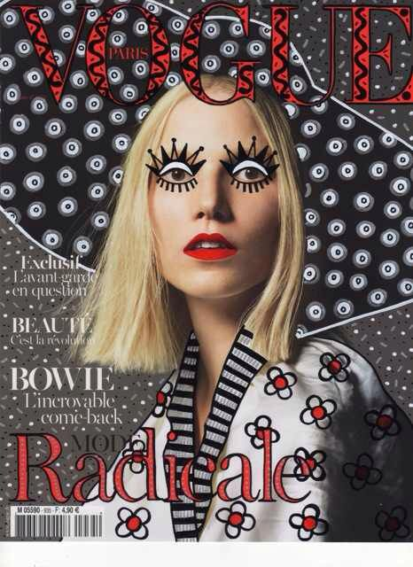 """Ana Strumpf Re-Cover """"Vogue Magazine"""""""