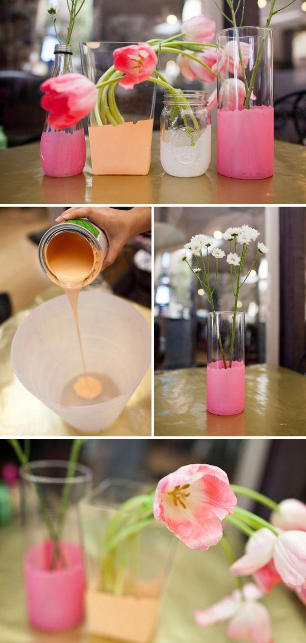 DIY-Project-Wedding-Colour-Vases-