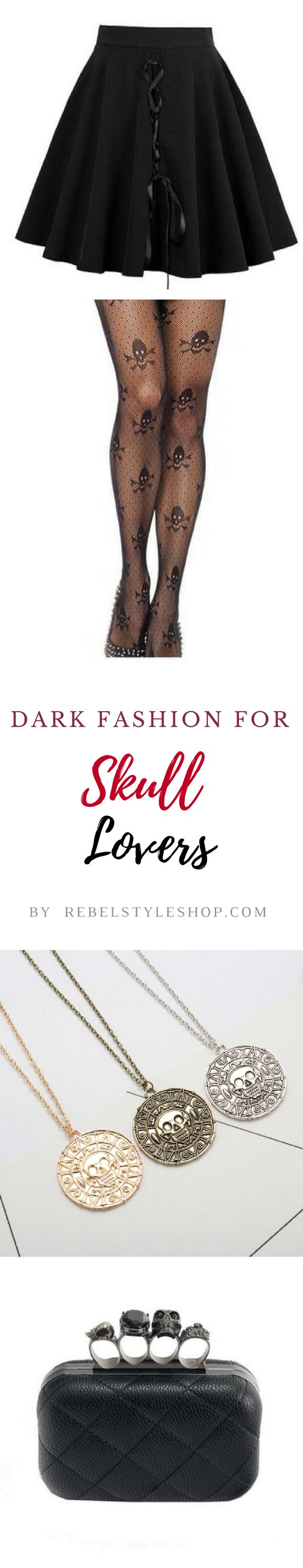 Ideas for dark fashion souls!  skull outfits skull dress sugar skull outfit  skull tights skull purse skull lovers gothic outfit gothic clothes