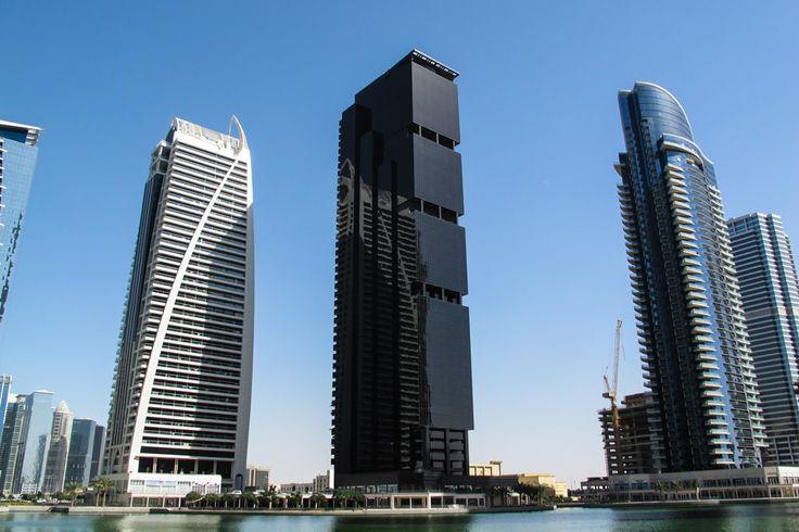 Tall Black Building