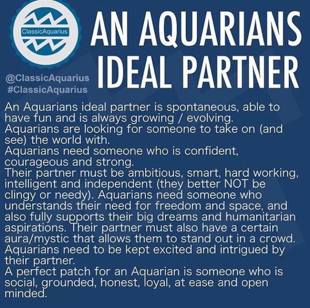 What to do when dating an aquarius man