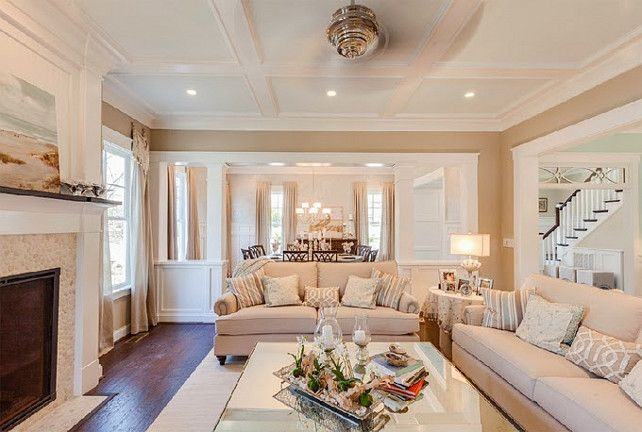 ceiling sw 6476 glimmer wall sw 7506 loggia new 2015 coastal virginia magazine idea house paint colors pinterest paint colors room paint colors - Living Room Ceiling Colors