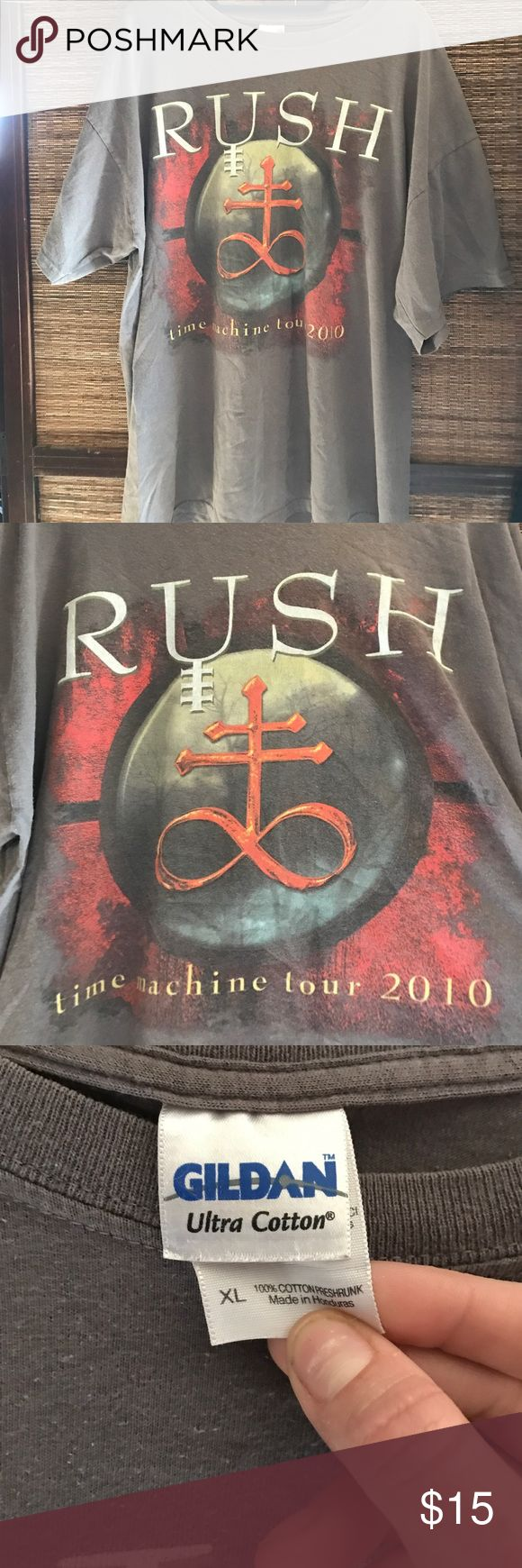 RUSH Concert T-Shirt Time Machine Tour 2010 RUSH Concert T-Shirt Time Machine Tour 2010, perfect condition, Sz XL Shirts Tees - Short Sleeve