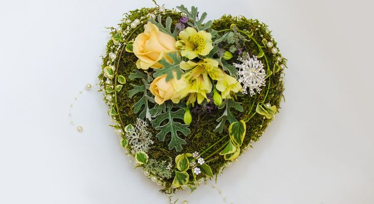 Флористика Сердце Своими Руками Свадьба День валентина Heart hand made W...