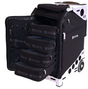 Zuca Pro Travel - Best Wheeled Carry-On With an Organizational System... And it fits within carry on guidelines!