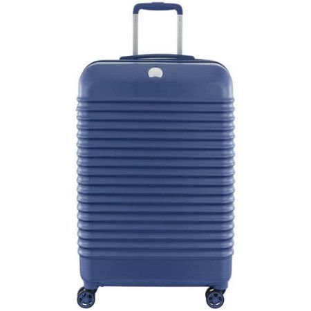 Delsey Bastille Lite 25 inch Expandable Spinner Trolley Suitcase, Multiple Colors Available, Blue