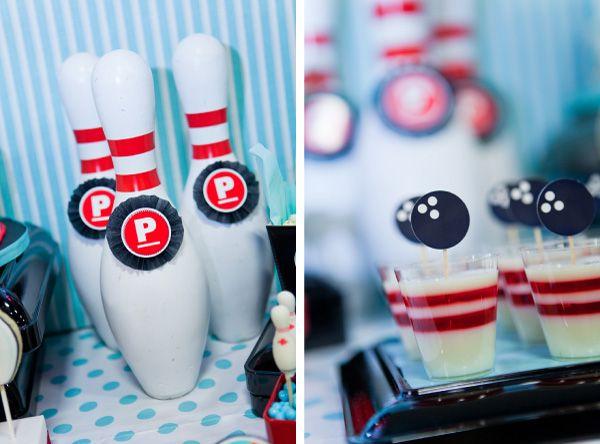 bowling pin jello or jello shot!