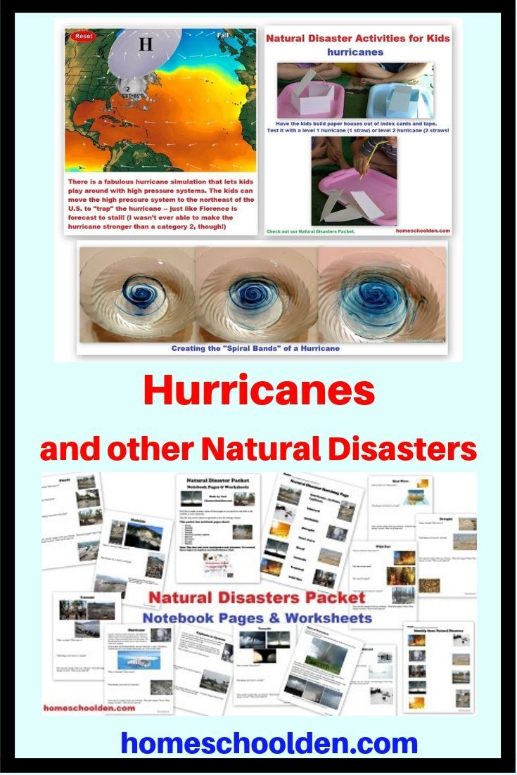 Hurricane Hands On Activities And Other Natural Disasters Check Out These Fun Hands On Ac Natural Disasters Hands On Activities Natural Disasters Activities