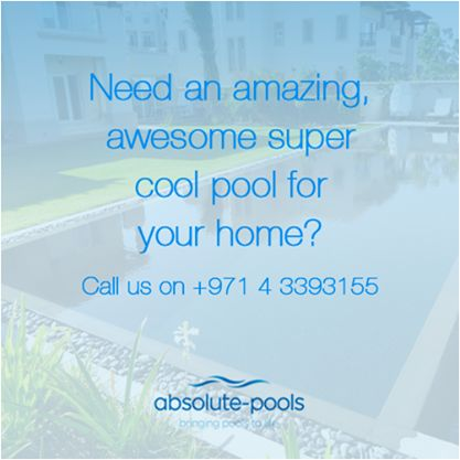Give us a ring so we can bring your pools to life!  #absolutepools #MyDubai #UAE
