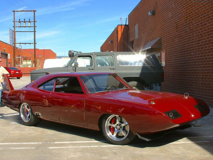 1969 Dodge Daytona Front Angle - Fast & Furious 6 Car  After seeing the movie I need this car!!! Minus the tail #badasscar #sexybeast