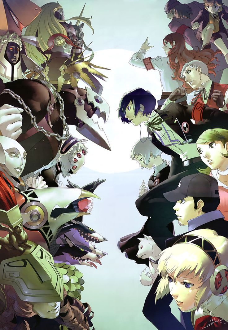 Persona! The Art Of Shigenori Soejima