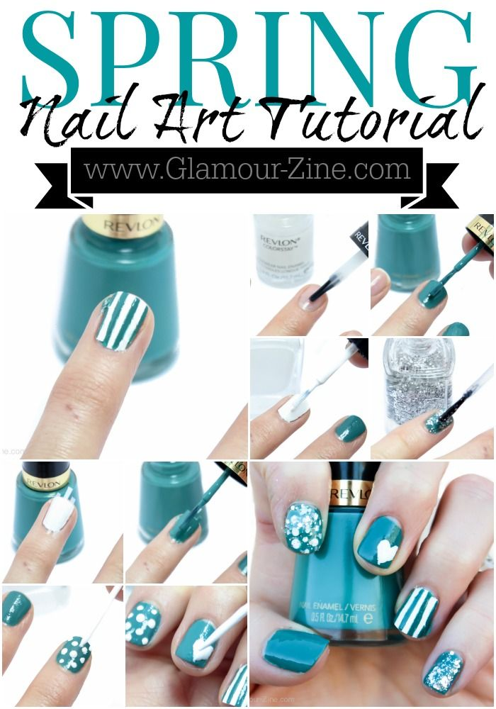 Spring Nail Trends and a Nail Art Tutorial via @Glamour-Zine   #WalgreensBeauty #shop