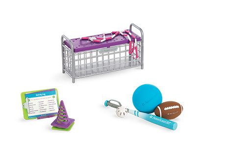 American Girl Sport Storage Bench