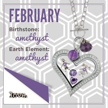 Origami Owl February-inspired product design! Follow BRENDA STER on FB: http://www.facebook.com/charmedsuite