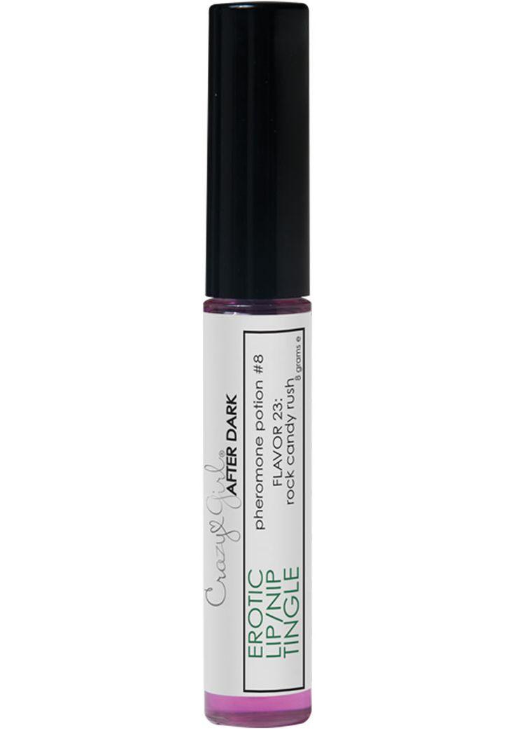 Buy Crazy Girl After Dark Pheromone Potion #8 Erotic Lip/nip Tingle Rock Candy Rush online cheap. SALE! $12.49