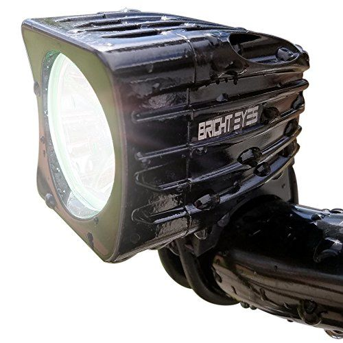Bright Eyes Rechargeable Mountain Bike Headlight - NEWLY UPDATED 1200 LUMENS - 6400mAh Battery - POWERFUL BEAM - FREE TAILLIGHT AND DIFFUSER LENS Included, Limited Time - WATERPROOF - No Tools needed - http://mountain-bike-review.net/products-recommended-accessories/bright-eyes-rechargeable-mountain-bike-headlight-newly-updated-1200-lumens-6400mah-battery-powerful-beam-free-taillight-and-diffuser-lens-included-limited-time-waterproof-no-tools-needed/ #mountainbike #mountain