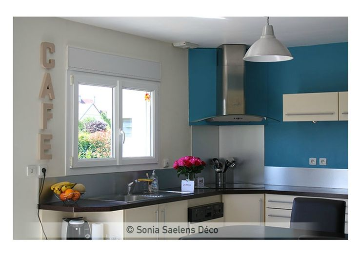 projet client une pi ce de vie moderne et lumineuse sonia saelens d co cuisine. Black Bedroom Furniture Sets. Home Design Ideas