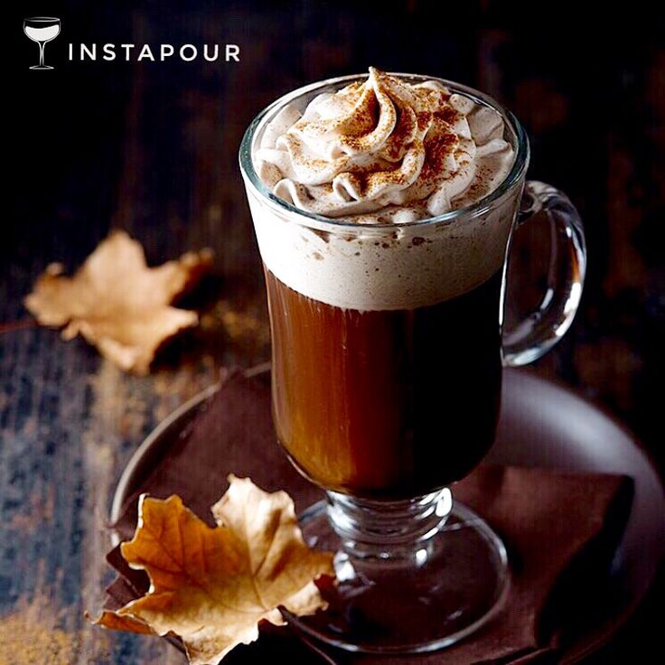WE WILL NEVER TIRE OF #PUMPKIN #SPICED ANYTHING. + coffee = game over.  - NAME: Pumpkin Spiced #IrishCoffee - CREDITS: @thespicetrain - DETAILS: #Fresh Brewed #Hot #Coffee, #Sugar, #Whiskey, Pumpkin #Spice #WhippedCream (Heavy #Cream, Sugar, #PumpkinSpice)  Instapour.com