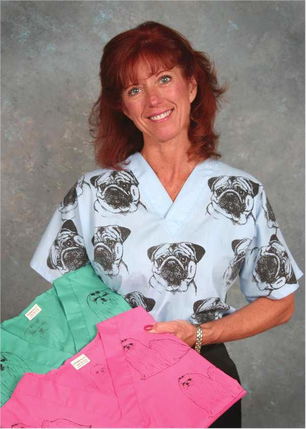 Pug Scrub Top Pug Love Pinterest Don T Judge Me