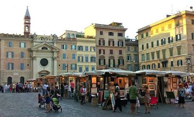 Rome4uஇ Roma e Lazio x te: Il Percorso della Gioia: rioni Ponte, Parione e Re...