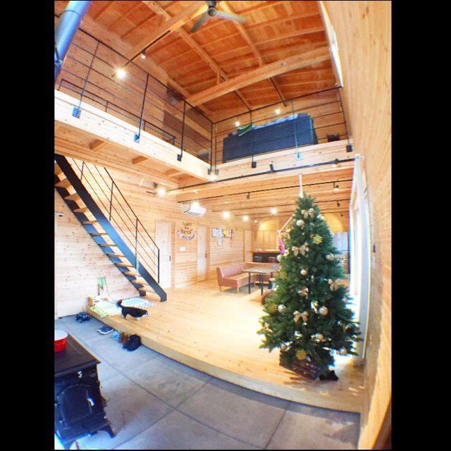 クリスマス/81組/エンライト:バーモントナイト/チェアハンモック/christmastree…などのインテリア実例 - 2015-12-23 09:38:08   RoomClip(ルームクリップ)