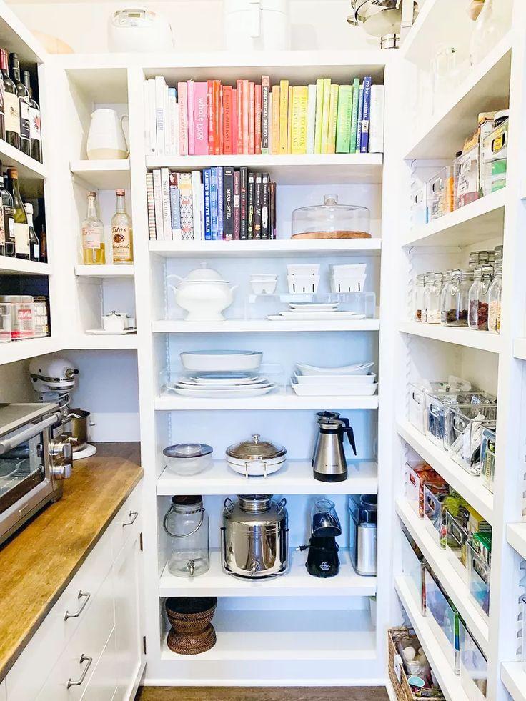 ein profi teilt 6 ikea kitchen pantry organisationsideen für grammierbare regale in 2020 mit on kitchen organization japanese id=19188
