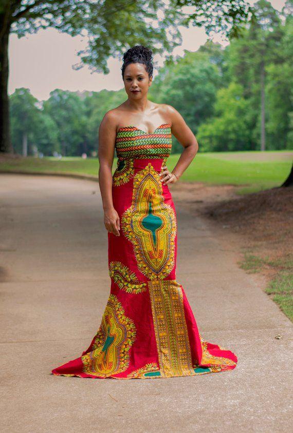 Dashiki Mermaid Dress In 2018 Pinterest And Dresses