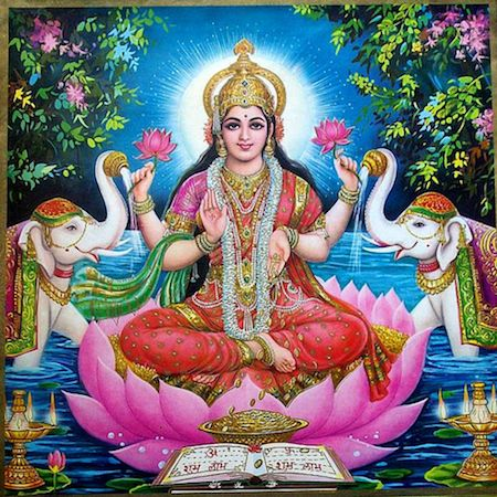 "LAKSHMI: ""Luminous One"" – Prosperity, Wealth & Abundance - BHAKTI YOGA: Myth, Archetype & Deity - MODULE 4 