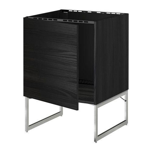 METOD Unterschrank für Spüle IKEA Die Tür kann wahlweise mit der Öffnung nach rechts oder links montiert werden.